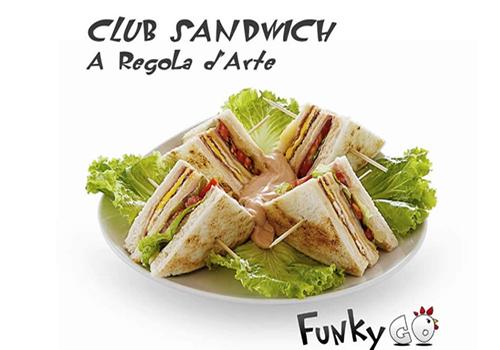 CLUB SANDWICH FUNKYGO